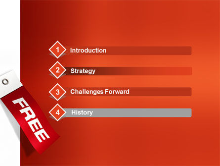 Label Free PowerPoint Template, Slide 3, 02865, Business Concepts — PoweredTemplate.com
