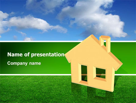Accommodation PowerPoint Template, 02866, Real Estate — PoweredTemplate.com