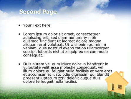 Accommodation PowerPoint Template, Slide 2, 02866, Real Estate — PoweredTemplate.com