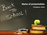 Education & Training: 学校に戻る - PowerPointテンプレート #02867