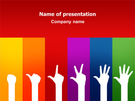 Counting PowerPoint Template