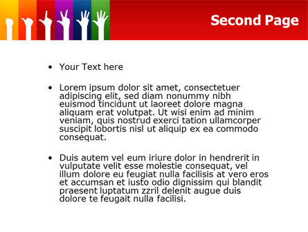 Counting PowerPoint Template Slide 2