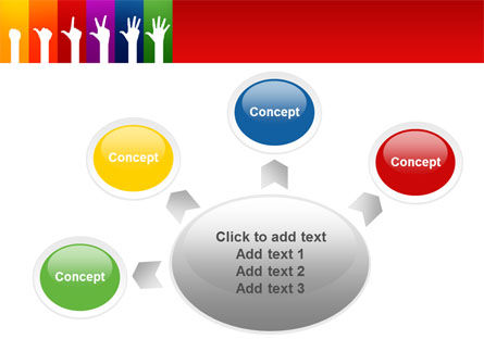 Counting PowerPoint Template Slide 7