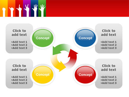 Counting PowerPoint Template Slide 9