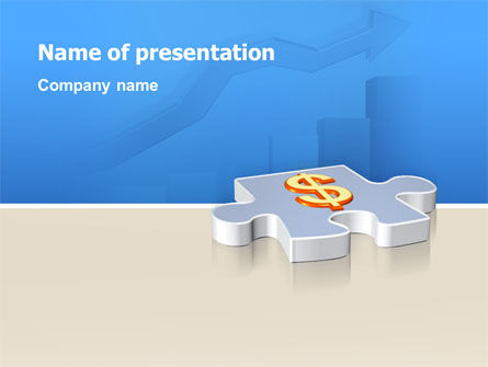 Financial/Accounting: Money Investment PowerPoint Template #02873