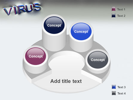 Virus Sign PowerPoint Template Slide 12