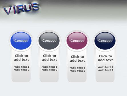 Virus Sign PowerPoint Template Slide 5
