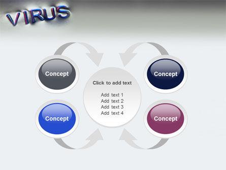 Virus Sign PowerPoint Template Slide 6
