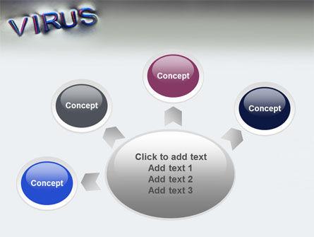 Virus Sign PowerPoint Template Slide 7