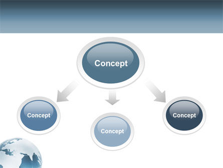 Crystal World PowerPoint Template, Slide 4, 02876, Global — PoweredTemplate.com
