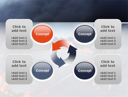 Disaster PowerPoint Template Slide 9