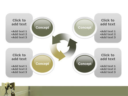 Locker PowerPoint Template Slide 9