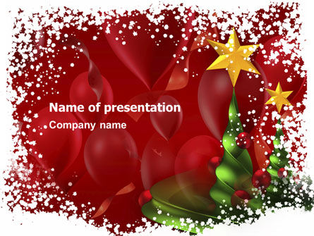 Holiday/Special Occasion: New Year Celebration PowerPoint Template #02885