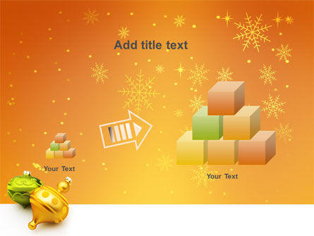 Decorations Of New Year PowerPoint Template Slide 13