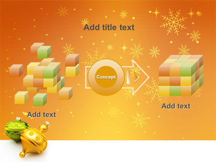 Decorations Of New Year PowerPoint Template Slide 17
