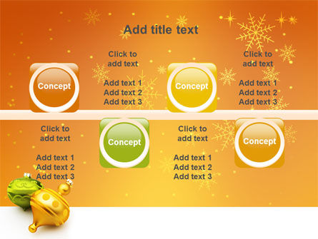 Decorations Of New Year PowerPoint Template Slide 18