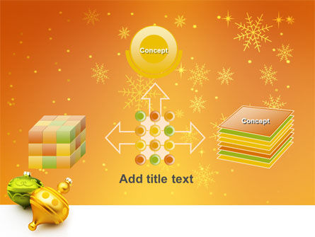 Decorations Of New Year PowerPoint Template Slide 19