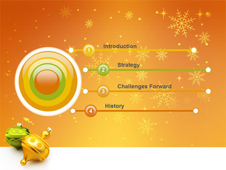 Decorations Of New Year PowerPoint Template Slide 3