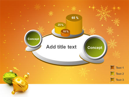 Decorations Of New Year PowerPoint Template Slide 6