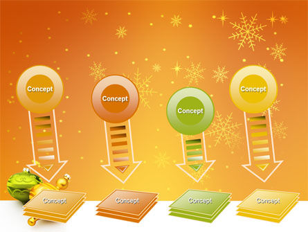 Decorations Of New Year PowerPoint Template Slide 8