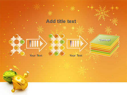 Decorations Of New Year PowerPoint Template Slide 9