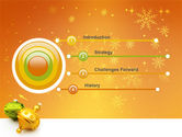 Decorations Of New Year PowerPoint Template#3