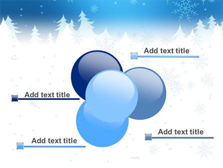 Forest Snow PowerPoint Template Slide 10