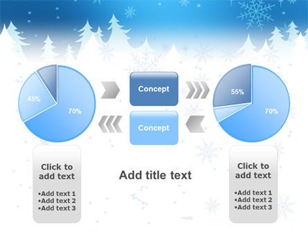 Forest Snow PowerPoint Template Slide 11