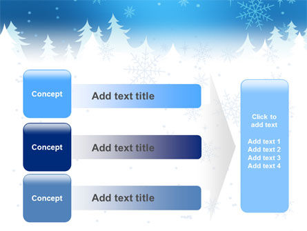 Forest Snow PowerPoint Template Slide 12