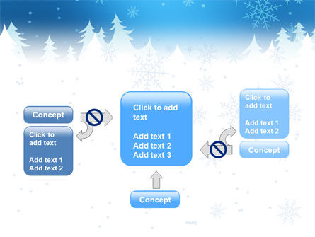Forest Snow PowerPoint Template Slide 13