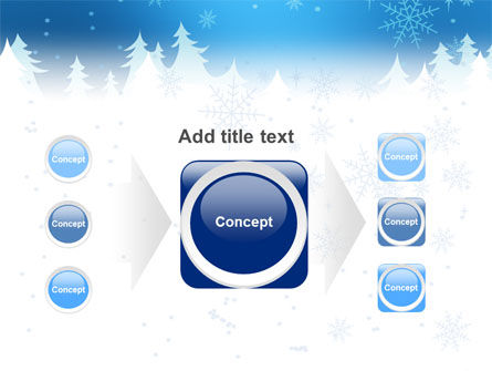 Forest Snow PowerPoint Template Slide 17