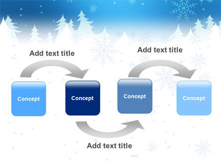 Forest Snow PowerPoint Template, Slide 4, 02888, Holiday/Special Occasion — PoweredTemplate.com