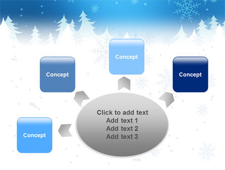 Forest Snow PowerPoint Template Slide 7