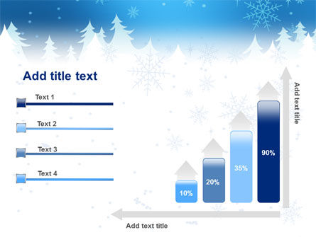 Forest Snow PowerPoint Template Slide 8