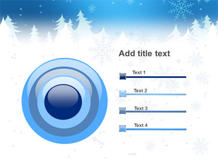 Forest Snow PowerPoint Template Slide 9