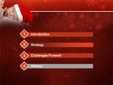 Christmas Child Free PowerPoint Template Slide 3