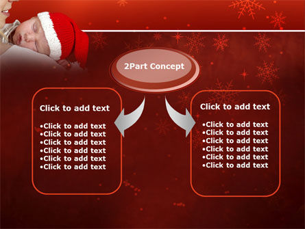 Christmas Child Free PowerPoint Template Slide 4