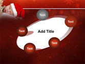 Christmas Child Free PowerPoint Template#14