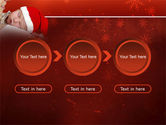 Christmas Child Free PowerPoint Template#5