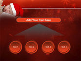 Christmas Child Free PowerPoint Template#8