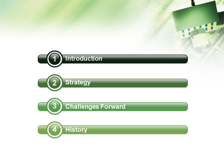 Mortgage On The House PowerPoint Template, Slide 3, 02891, Financial/Accounting — PoweredTemplate.com