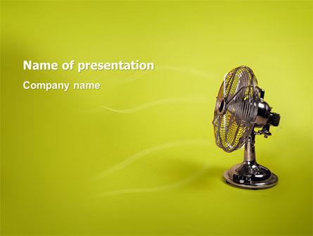 Ventilator On Light Olive Background - Free Presentation