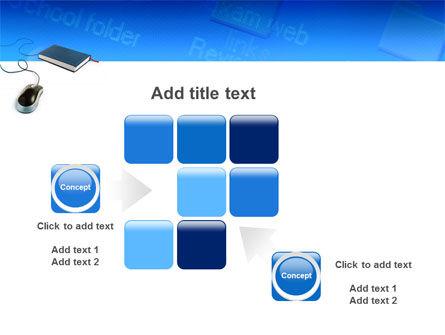 Internet Libraries PowerPoint Template Slide 16