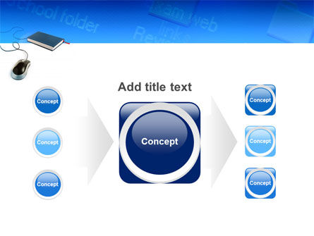 Internet Libraries PowerPoint Template Slide 17