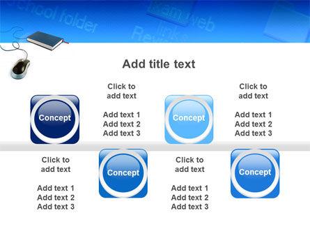 Internet Libraries PowerPoint Template Slide 19