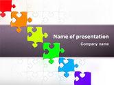 Fancy Jigsaw PowerPoint Template#1