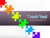 Fancy Jigsaw PowerPoint Template#20