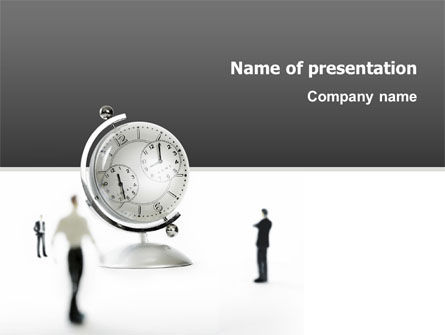 Business: World Time PowerPoint Template #02898