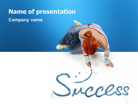 Consulting: Women's Success PowerPoint Template #02900