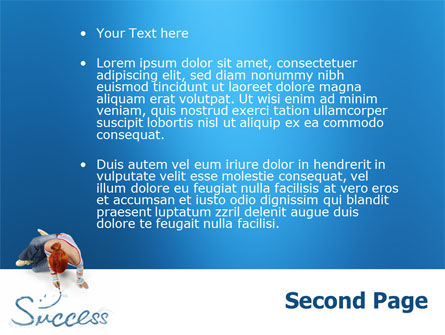 Women's Success PowerPoint Template Slide 2
